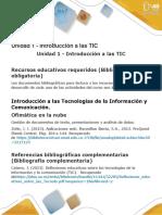 Unidad 1 - Introducción a Las TIC