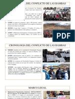 Cronologia Del Conflicto de Las Bambas