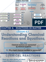 Chemical Reaction Chapter 4