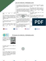 Principios de Adición y Multiplicación Ejercicios Propuestos PDF