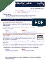 EdUSA Weekly Update No 204 10 November 2010
