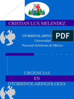 Urgencias en Otorrinonaringologia