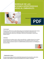 Abordaje de Las Complicaciones Hipertensivas Asociadas Al Embarazo