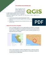 Delimitación de La Cuenca Haciendo Uso de Programa Qgis