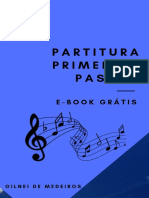Partitura Primeirpartitura primeros pasos os Passos Teoria Musical