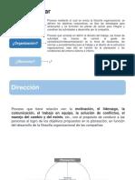 Tema 6. Proceso de dirección + motivación en las organizaciones