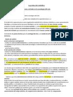 """""""La Producción Simbólica"""" de Néstor García Canclini"""