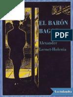 El Barón Bagge - Lerten Holenia