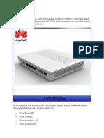 Modem Baru huaWEI HG8245A.docx