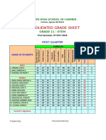 Consolidated Grade Sheet for Adviser Only