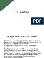 La Calistenia