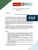 Didáctica de Las Lenguas y Culturas Extranjeras. Mención Francés-2019