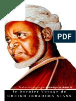 Dernier Voyage de Cheikh Brahima Niass
