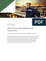 Datasheet AVEVA AssetPerformanceManagementAssessment 07-19