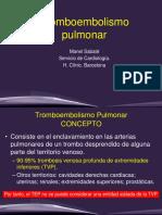 Tromboembolismo Pulmonar 2019