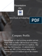 Federal Bank Debit Card