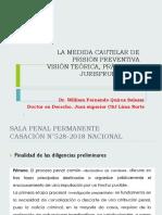 La Medida Cautelar de Prisión Preventiva