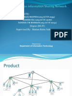 presentation template for final year networking project