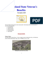Vet State Benefits - RI 2019
