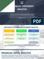BUSINESS FINANCE Financial Statement Analysis