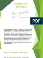 Applications of      biosensors.pptx