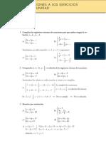 Matematicas Resueltos (Soluciones) Sistemas de Ecuaciones 2ª Parte 3º ESO