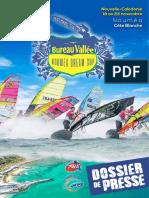 Dossier de Presse Bureau Vallée Nouméa Dream Cup