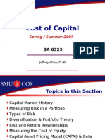 Risk and Rates of Return | Capital Asset Pricing Model