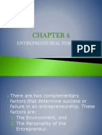 Ch 04 Entrepreneurial Personality