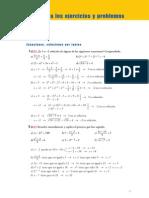 Matematicas Resueltos (Soluciones) Ecuaciones 1º y 2º Grado-2ª Parte 3º ESO