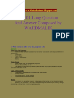 Cs101 Short and Long Questions Solved by Wajid (Virtualustaad.blogspot.com)