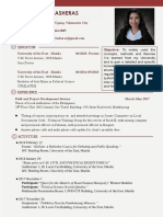 Marry Rose Lasheras(Resume)