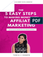 The 5 Easy Steps To Making Money With Affiliate Marketing.pdf
