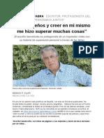 Entrevista a Jordi Serra i Fabra (Modelo)
