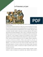 La Revolución Francesa y El Pan