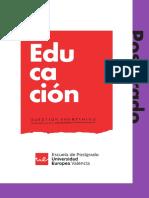 Máster Universitario en Formación Del Profesorado 2019