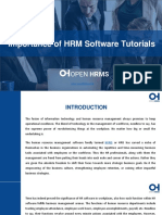 Importance of HRM Software Tutorials