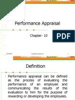 Performance Appraisal Ch 10