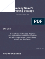 MarketingStrategy Template