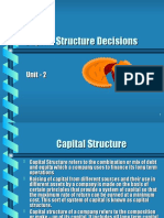 Capital Structure(7)