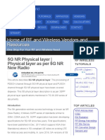 5G NR Physical Layer _ Physical Layer as Per 5G NR New Radio