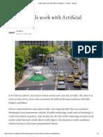 Traffic Signals Work With Artificial Intelligence - Venkat k - Medium