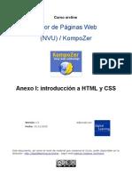 Introducción a HTML y CSS