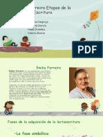 Emilia Ferreiro Etapas de La Escritura