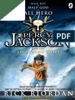 Percy Jackson - Lightning Thief Graphic Novel