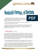 Revolución Francesa,el Directorio