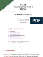 Statics - Chapter 1
