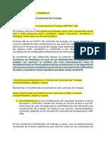 Derecho Laboral - Examen 2