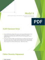Modul 6 Audit Sdm