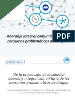 Camarotti Touris Abordaje Integral Comunitario de Los Consumos Problematicos de Drogas